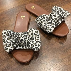 Cheetah print Sandals from H&M